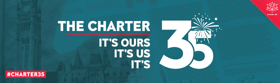 The Charter It's ours It's us It's 35 #charter35